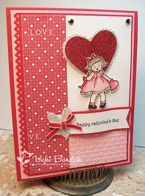 Cute valentine, but a lot of work to cut out the girl.