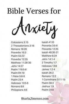 Bible Verses for Anxiety #anxiety #bibleverses,  #anxiety #bible #bibleverses #inspirationalt…