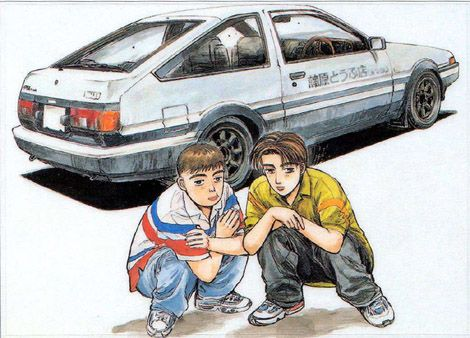 Initial D: Second Stage (DVD) Review: More than a Racing Anime?