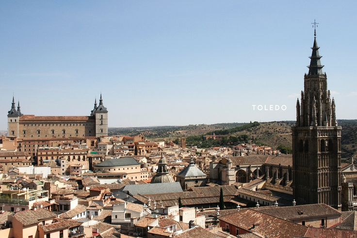 Working abroad in Spain and Portugal - Toledo