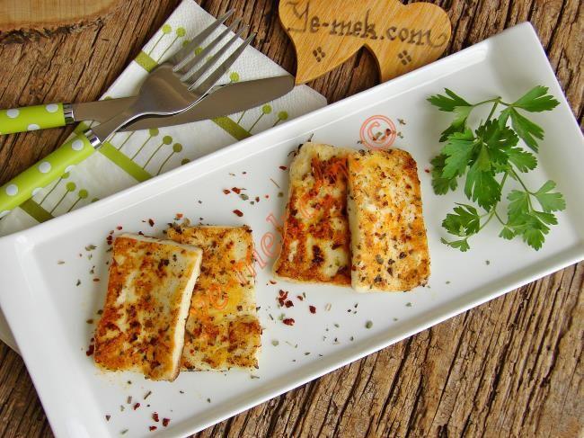Baharatlı Hellim Peyniri Kızartması Resimli Tarifi - Yemek Tarifleri