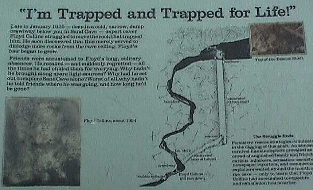 a history of floyd collins a cave explorer Floyd collins – trapped in sand cave point in the history of cave country and the local cave explorer and business owner floyd collins.