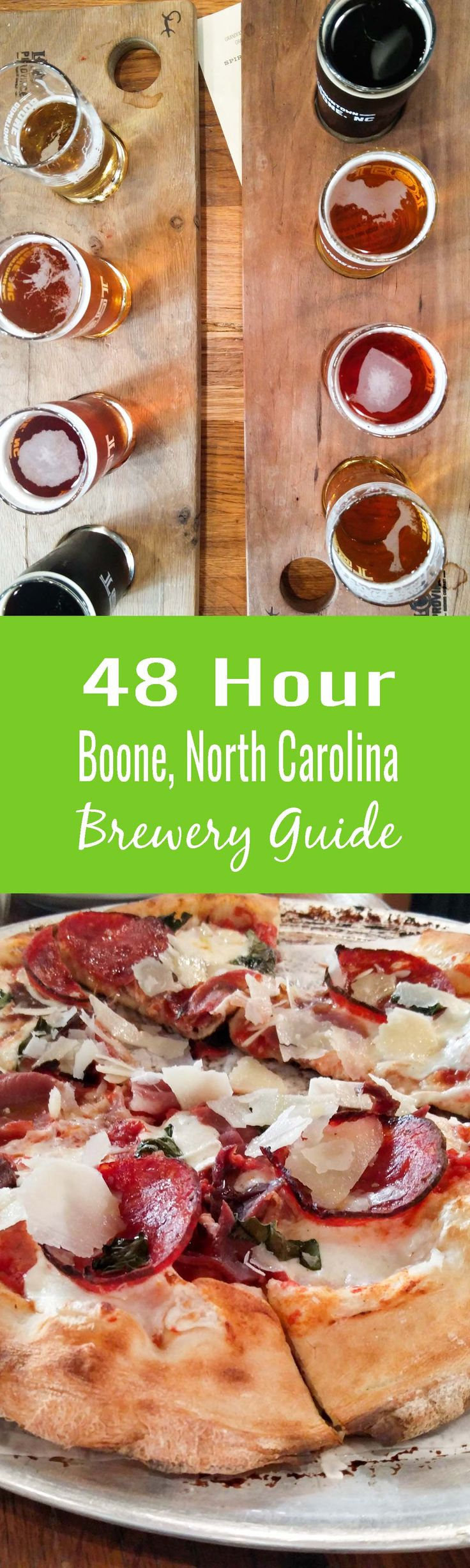 Boone, North Carolina is a great mountain alternative to Asheville. Plan your trip with my Boone Brewery Guide!