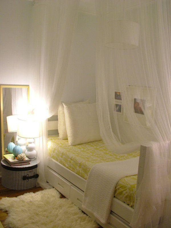 Les 25 meilleures idées de la catégorie Ciel de lit fille sur ...