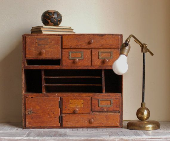mueble escritorio cyber lunes etsy venta vintage biblioteca biblioteca