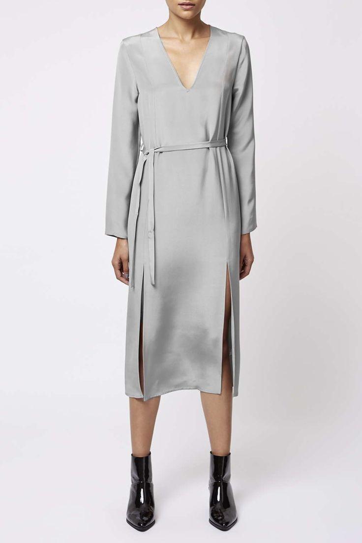Photo 3 of V-Neck Side Split Dress by Boutique