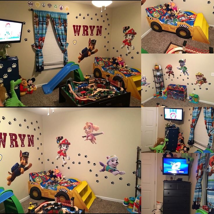 10 best My sons Paw Patrol bedroom images on Pinterest