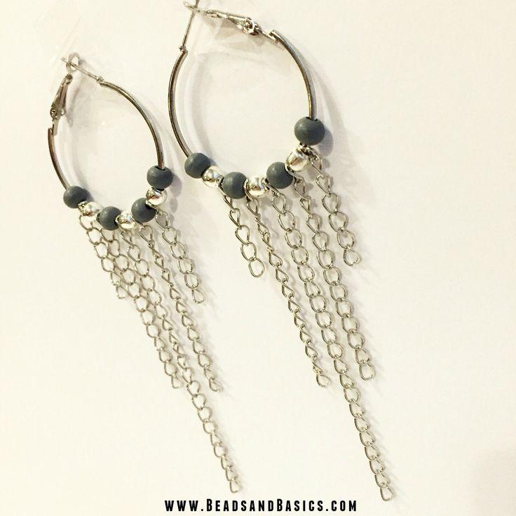 Oorbellen maken van Jasseron - Beads & Basics | Online Kralen Kopen / DIY Tutorial / Beads / Zelf sieraden maken / Armbandjes / Ketting / Kralen / armbandjes / Jasseron / kralen webshop   www.BeadsandBasics.com