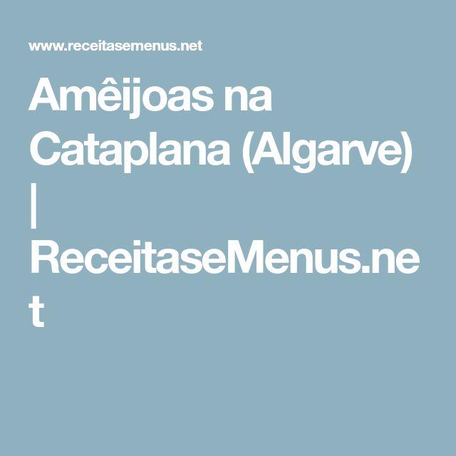 Amêijoas na Cataplana (Algarve) | ReceitaseMenus.net
