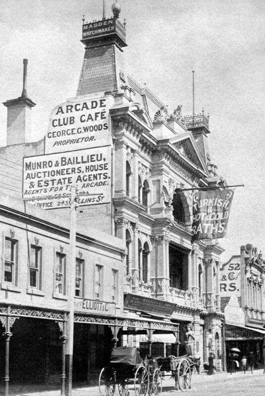 Prahan Arcade on Chapel St in 1891.