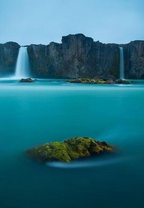 Cascadas de los Dioses, Islandia