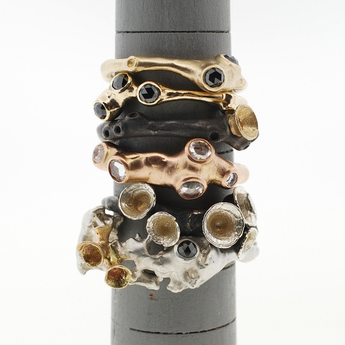 47 best contemporary rings images on pinterest rings for Terry pool design jewelry