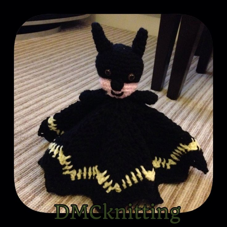 A personal favourite from my Etsy shop https://www.etsy.com/uk/listing/399473477/batman-snuggly-blanket