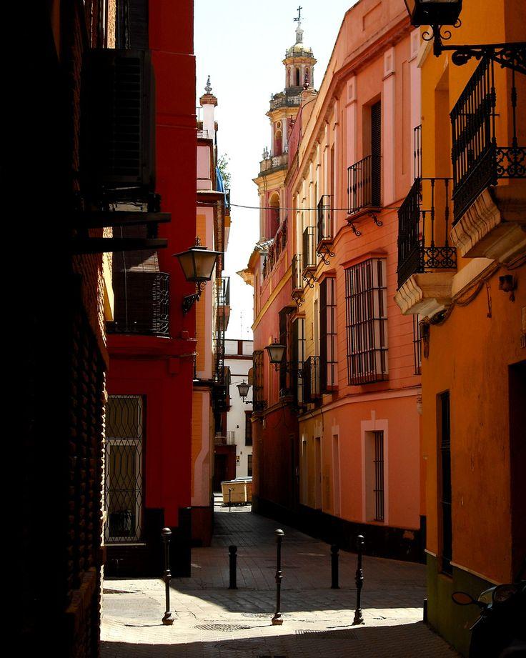 Momentos en el barrio de Triana, Sevilla, Andalucía, España
