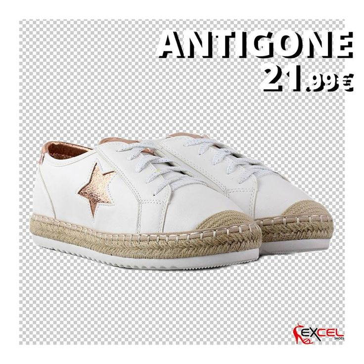 Womens New Arrivals!!! Antigone 21,99€ 🚚 Δωρεάν μεταφορικά για Ελλάδα #excelshoes #ss17 #spring #summer #2017 #shoes #women #womenfashion #sneaker #thessaloniki #papoutsia #gunaika #παπουτσια #moda