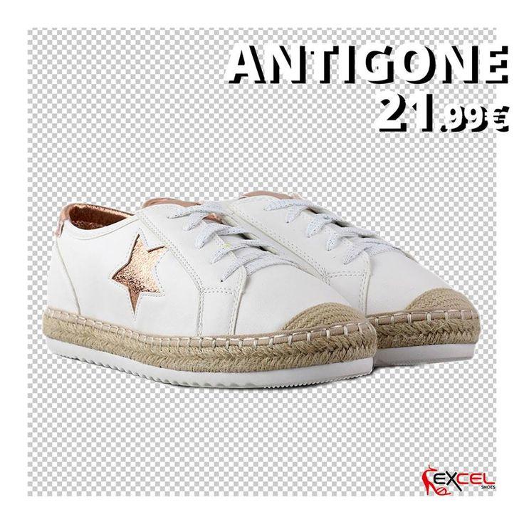 Womens New Arrivals!!! Antigone 21,99€ 🚚 Δωρεάν μεταφορικά για Ελλάδα #excelshoes #ss17 #spring #summer #2017 #shoes #women #womenfashion #sneaker #thessaloniki #papoutsia #gunaika #παπουτσια #moda