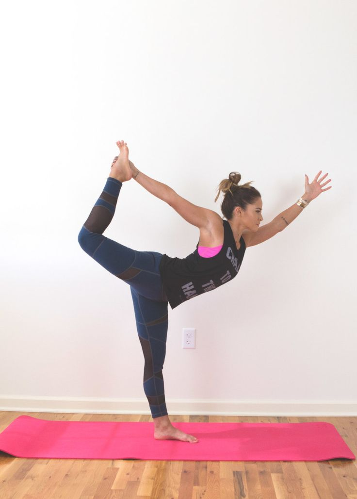 Three yoga poses to help you find balance on and off the mat
