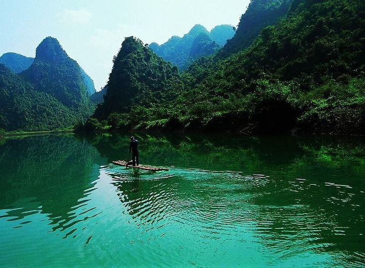 Guilin, China landscape