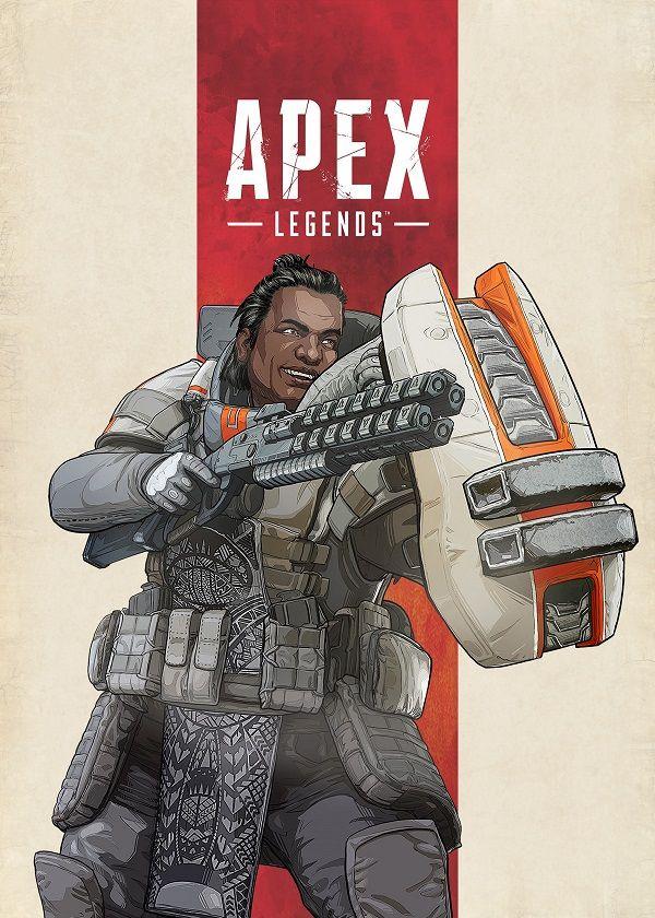 Apex Legends Battle Game Lifeline Art Wall Indoor Room Poster POSTER 24x36