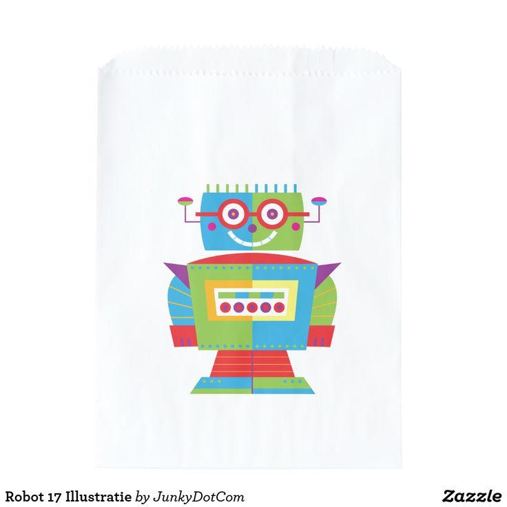 Robot 17 Illustratie
