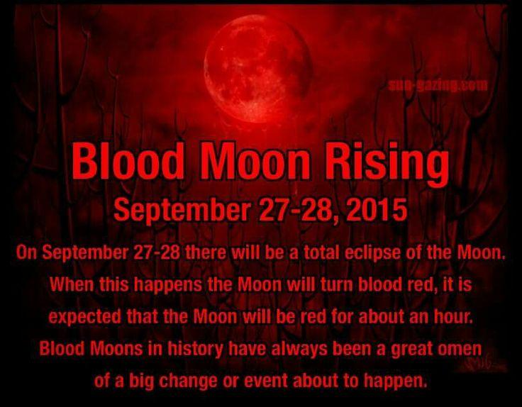 blood moon eclipse timeline - photo #17