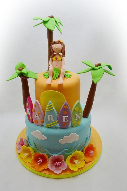 El pastel de Hawaii