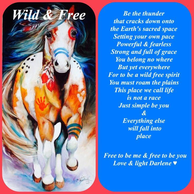 Wild & Free by Darlene Moyen