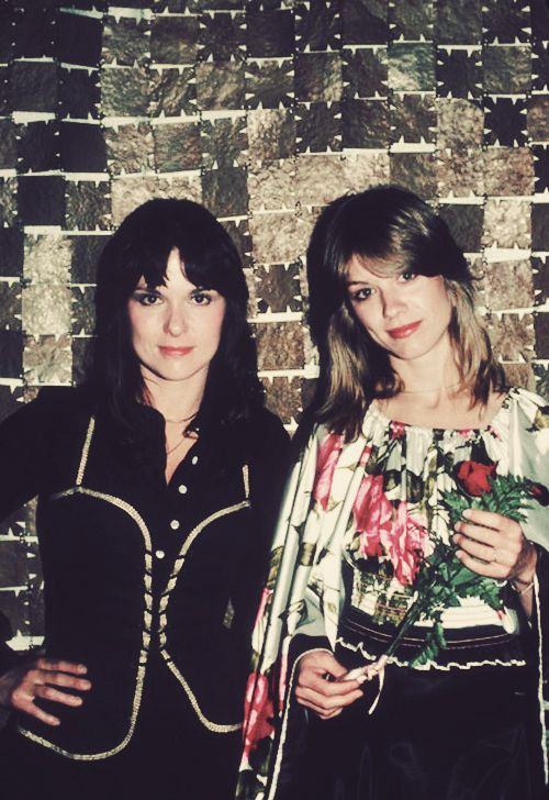 Ann and Nancy Wilson of Heart, 1977