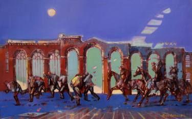 """Saatchi Art Artist Romeo Melikian; Painting, """"Struggle series"""" #art"""