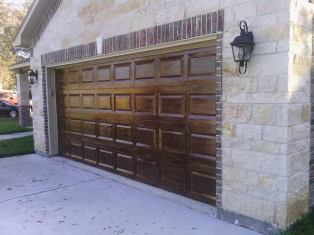 Garage Doors Of Houston Of 17 Best Images About Garage Door Wood Faux On Pinterest