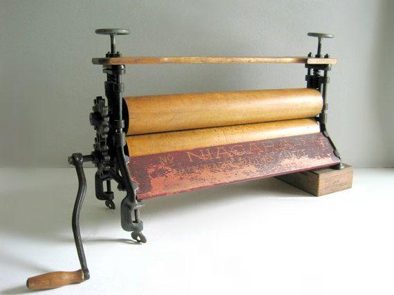 Old Fashioned Laundry Wringer