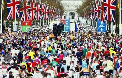 Run the London Marathon