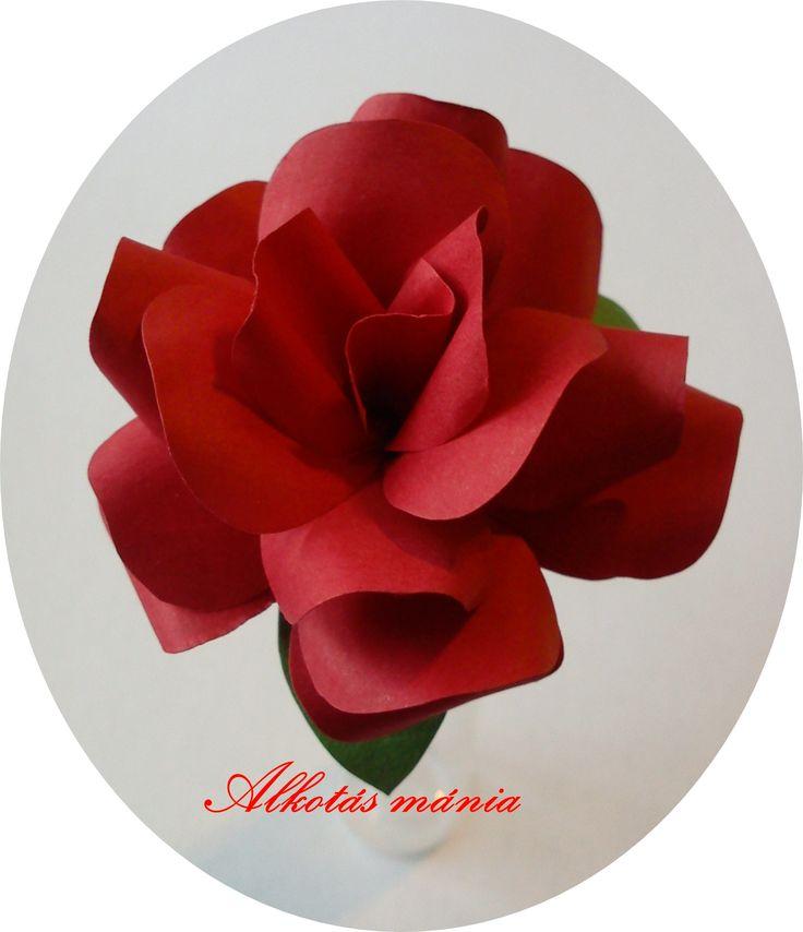 #piros##papír##rózsa##alkotásmánia#