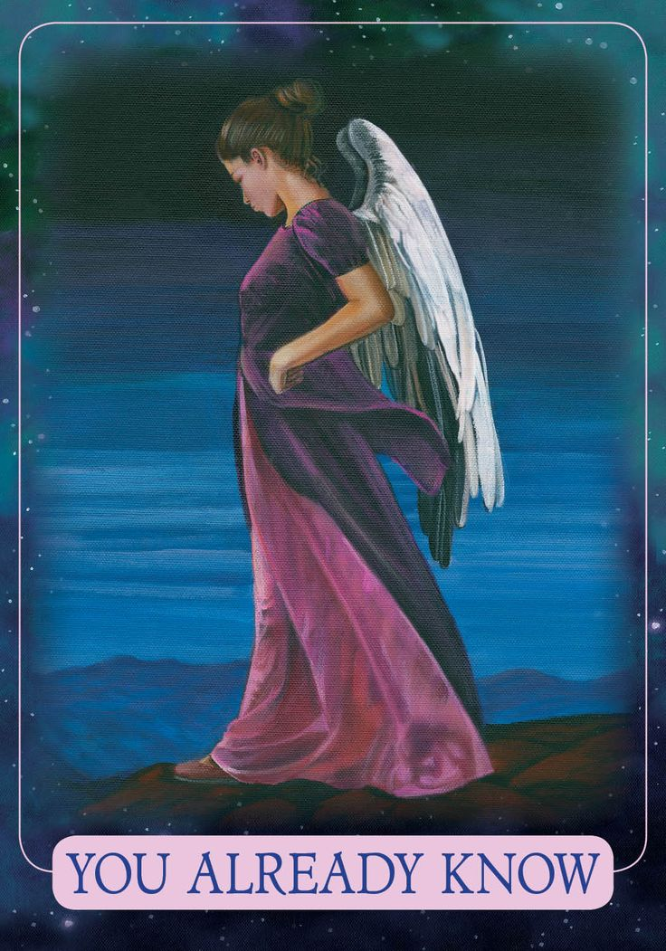 Angel Therapy Oracle Cards Doreen Virtue: Oracle Card You Already Know