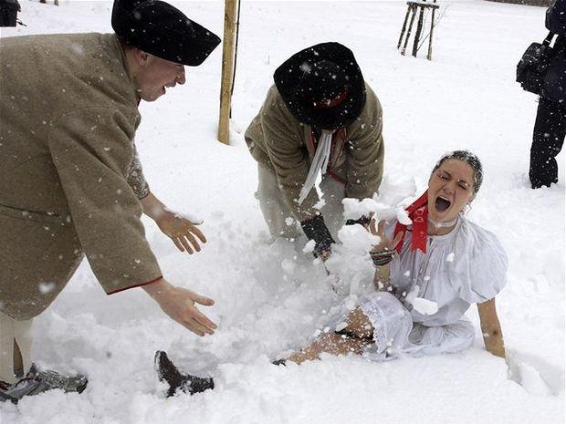 Voda nechýbala, na Liptove bolo snehu až-až.