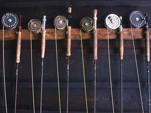 Old fishing reels