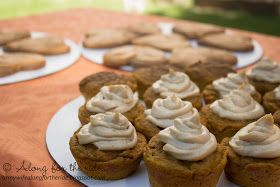 Along for the ride...: Pumpkin Pupcakes