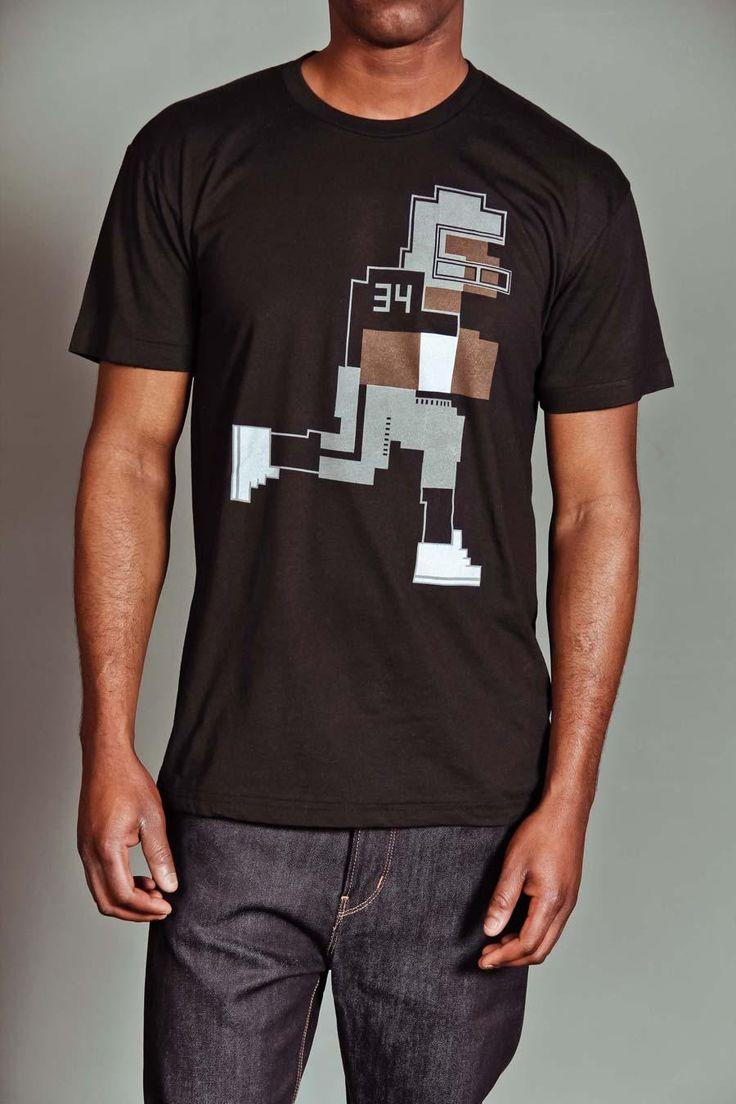 8 Bit Bo Jackson Tecmo Super Bowl Flashback T Shirts