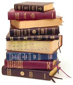 The Bible - KJV, New KJV, AMS, NIV, HCSB, Living Bible- in English, Spanish, French, Greek etc.  Just read it anyway you can.