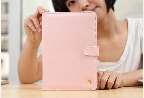 Luxury Design Gold Crown Wallet Case in Card Cover for Apple iPad2 3 4 and Mini | eBay