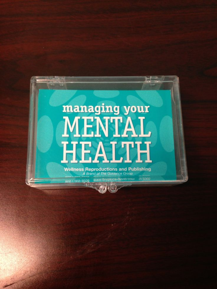 mental health counselor resume%0A Managing your mental health  Wellness Productions  Great for SMI clients