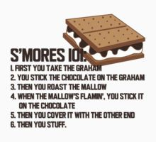 smores 101 by thedugout The sandlot, s'mores, smalls, ham, scotty smalls, you're killin me smalls!