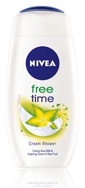 Nivea Free Time Cream Shower