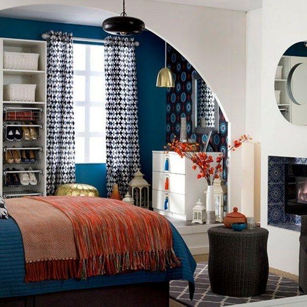 Bedroom Blue Paint Colors Black Bedroom Decor Cool Teenage Bedroom Chairs Bedroom Ideas Dark Blue: Best 20+ Midnight Blue Bedroom Ideas On Pinterest