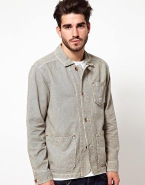 Edwin Jacket Railroad Hickory Stripe $141.34