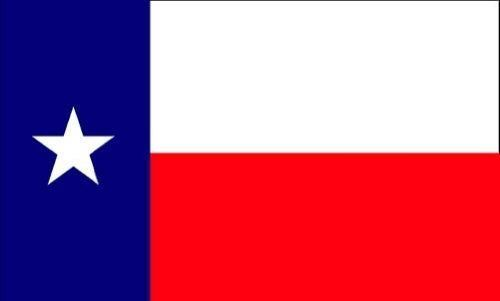 Texas State Flag Flag Nylon 3 Ft. X 5 Ft. by Flags Unlimited. $11.97. Texas was the 28th state admitted to the union on 12/29/1845. This flag includes 2 brass grommets on the left edge for hanging. Features sewn construction. For outdoor use, we recommend these nylon flags.