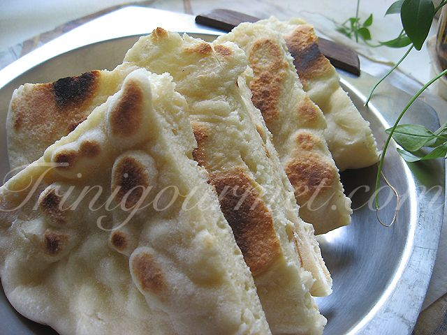 Trinidad Sada Roti (recipe- reminds me of what we had at mst, but my first thought was if i only divide into four, that means im eating a cup of flour each. #yikes, but still shall try at somepoint