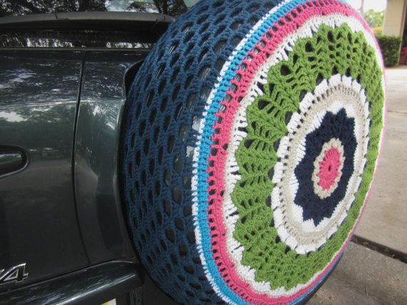 30 best images about Crochet Spare Tire Covers on ...