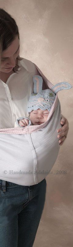 How to sew a baby sling - patterns