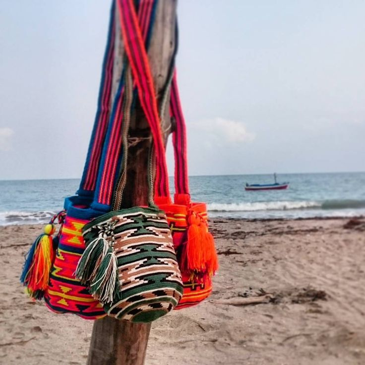 """Beautiful Wayuu backpacks, a strand, most designs, at affordable prices, shipments 100% safe. National and international shipments.  Hermosas mochilas…"""